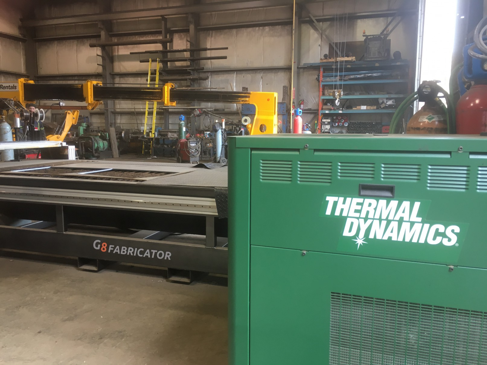 Thermal dynamic machine